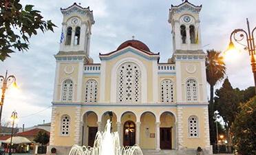 εικόνα ναός άγιος δημήτριος χαλκίδα
