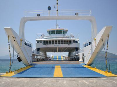 Ferry Boat Αγιόκαμπου - Γλύφας