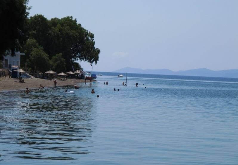 παραλία αμάρυνθος εύβοια