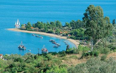 Παραλία Άγιος Γεώργιος Λιχάδος εύβοια χαλκίδα