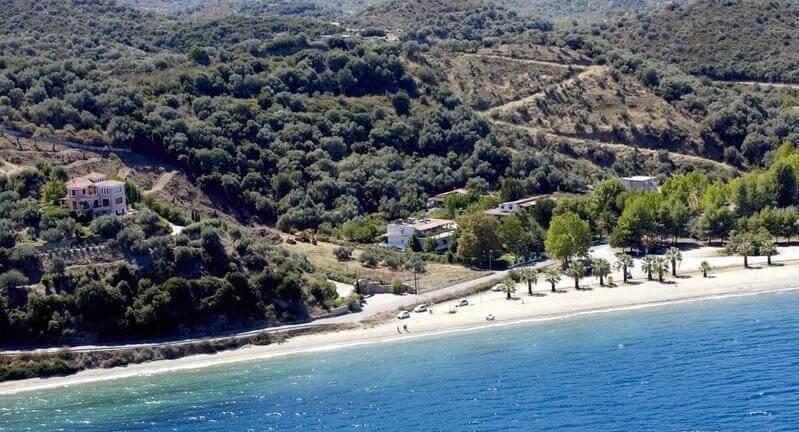 παραλία νησιώτισσα Νέος Πύργος εύβοια
