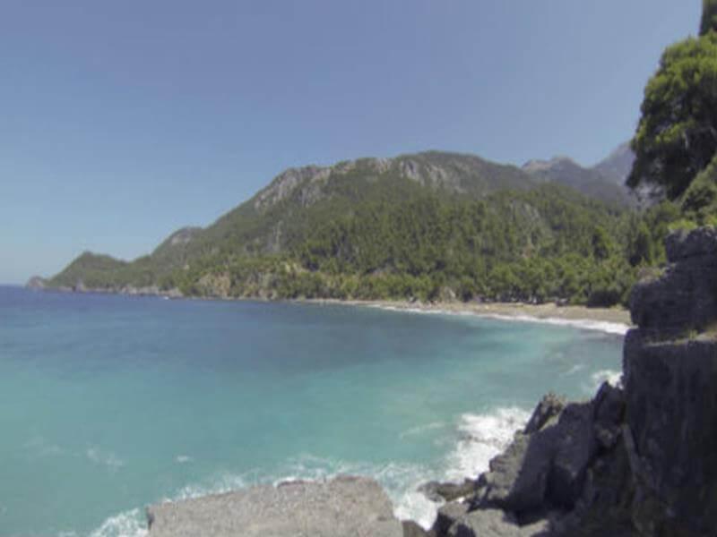 Παραλία Βλαχιά εύβοια