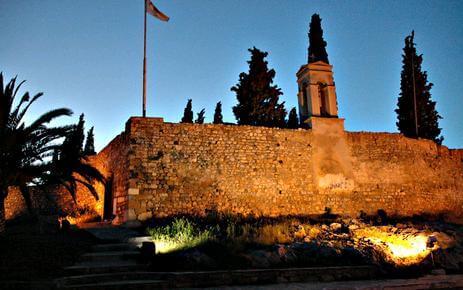 εικόνα κάστρο καράμπαμπα κάνηθος χαλκίδα εύβοια