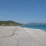 εικόνα παραλία μουρτερή αυλώνα εύβοια