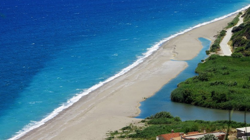 εικόνα Παραλία Στόμιο Οξύλιθου εύβοια