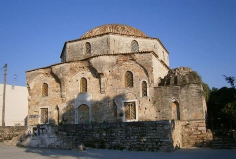 εικόνα τζαμί οθωμανικό τέμενος εμίρ ζαδέ χαλκίδα εύβοια